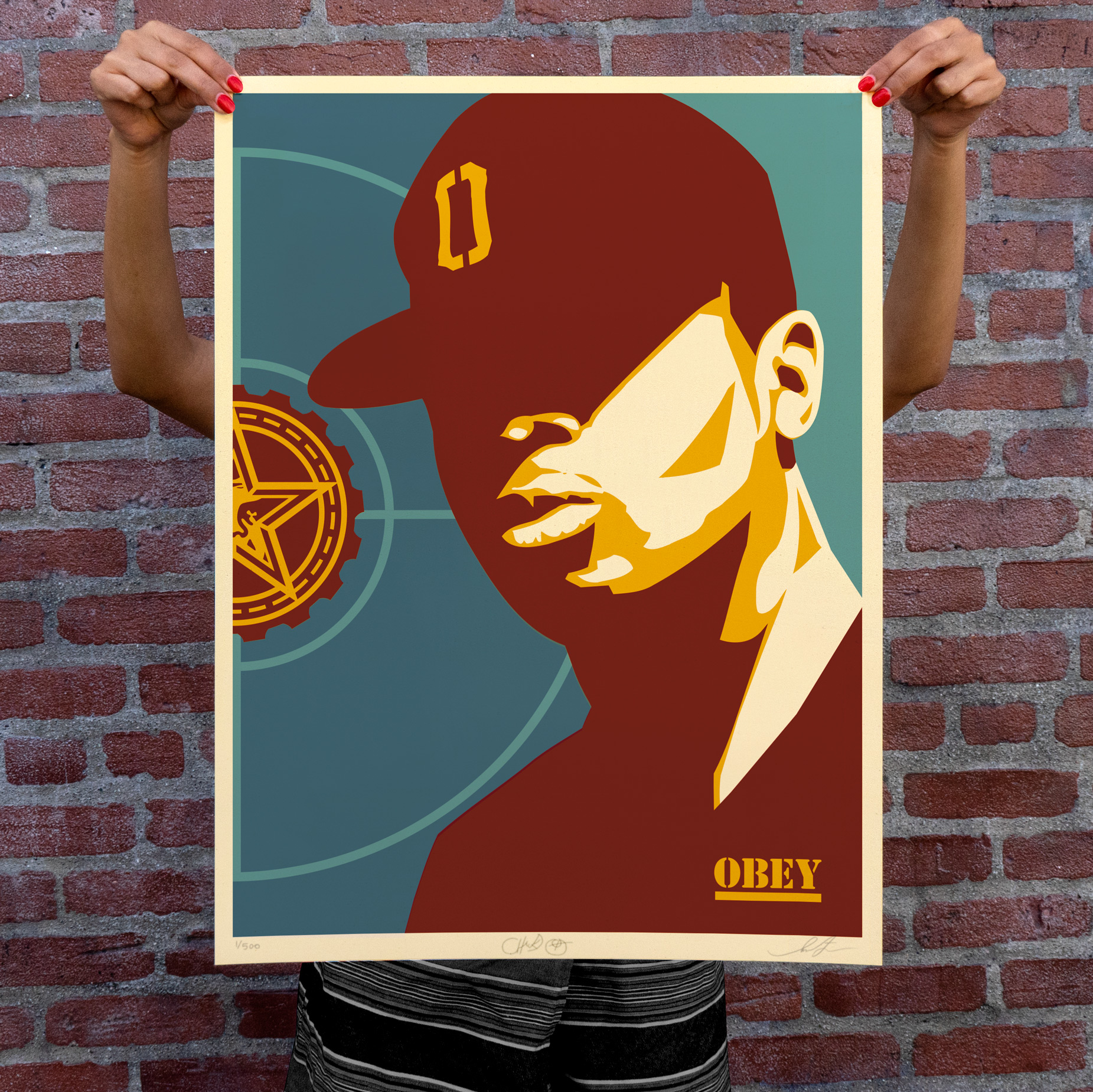 CHUCK D: FIGHT THE POWER AVAILABLE TUESDAY, JUNE 30TH! - Obey Giant
