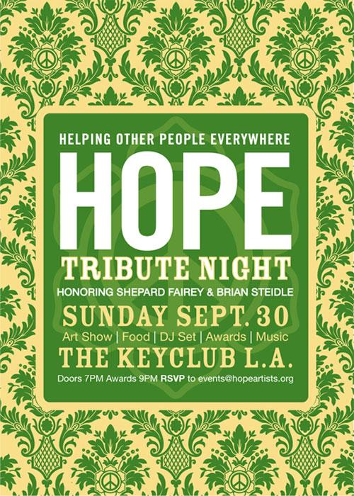 HOPE Tribute Night