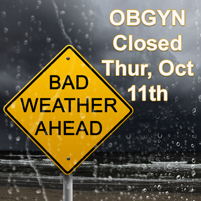 closed Thursday, October 11th