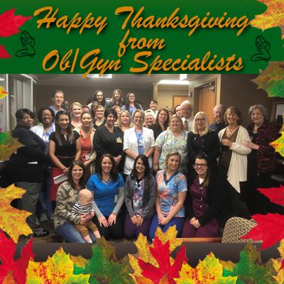 Thanksgiving & Christmas Staff Photos
