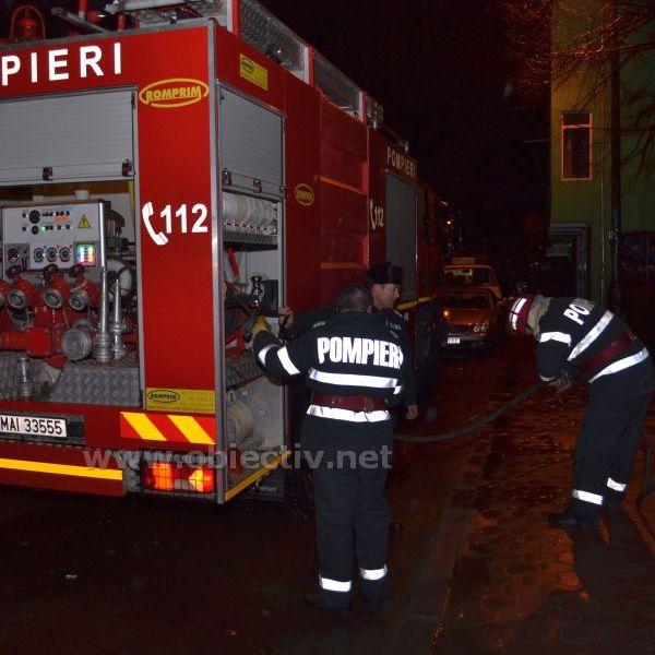 Incendiu la instalația de încălzire a unei locuințe din Urziceni