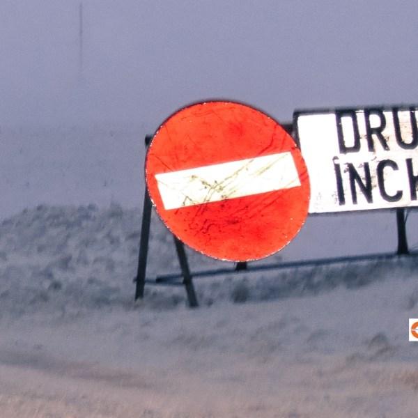 Trafic întrerupt pe două drumuri naționale