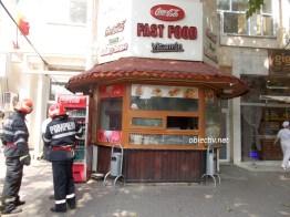 incendiu fast food central slobozia - 06