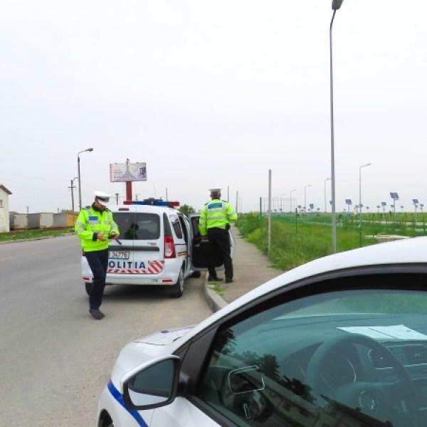 Ialomița: Acțiuni poliție, filtre rutiere