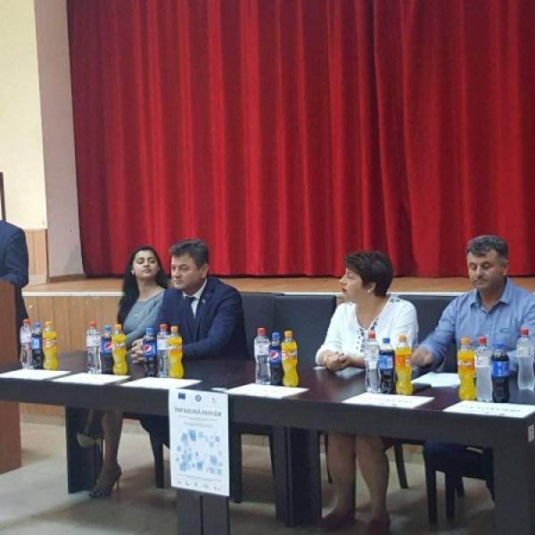 Comuna Traian, singura comunitate marginalizată cu populație romă din regiunea Sud Muntenia care a primit finanțare din FSE