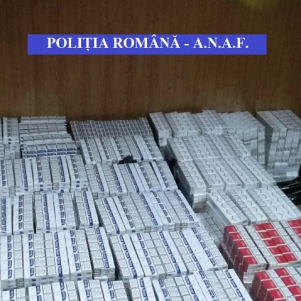 Ialomița: 270.000 de țigarete, ridicate de polițiști și inspectori antifraudă