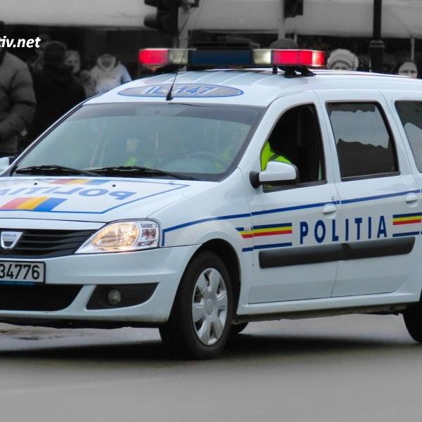 Ialomița: Peste 100 de intervenții ale polițiștilor, în acest sfârșit de săptămână