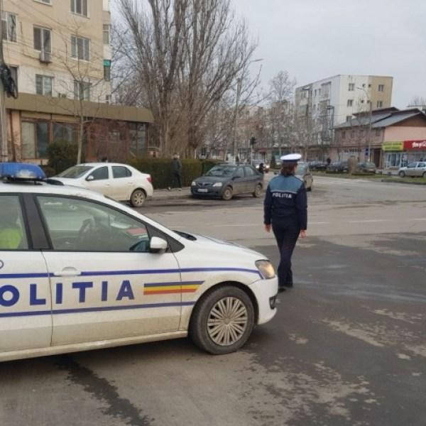 Slobozia: Acțiune pentru siguranța rutieră