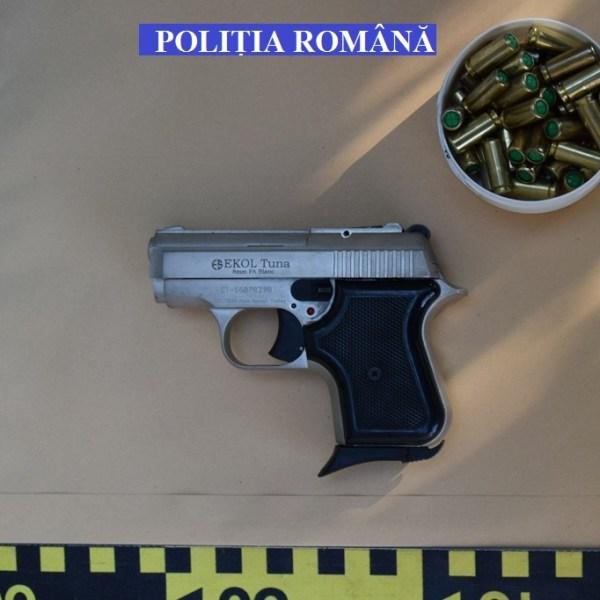 Ialomița: Nerespectarea regimului armelor și munițiilor și contrabandă calificată la Țăndărei
