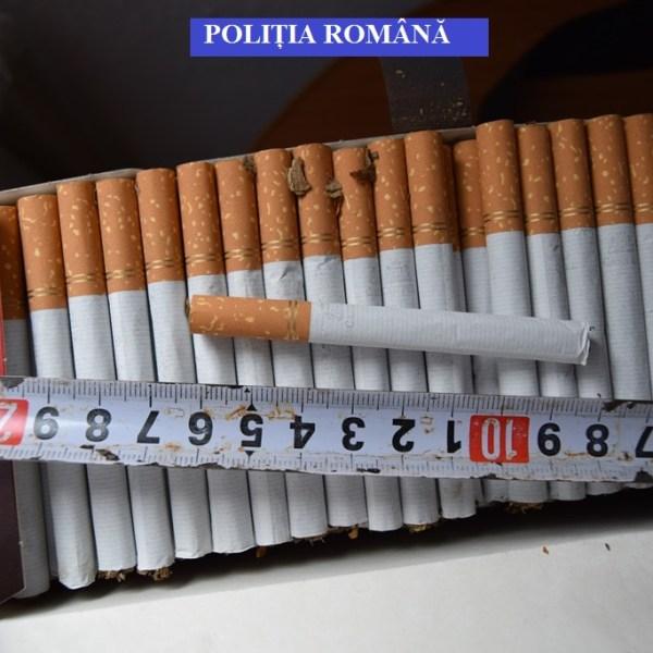 Ialomița: Percheziții în Urziceni - persoane bănuite de contrabandă cu țigări
