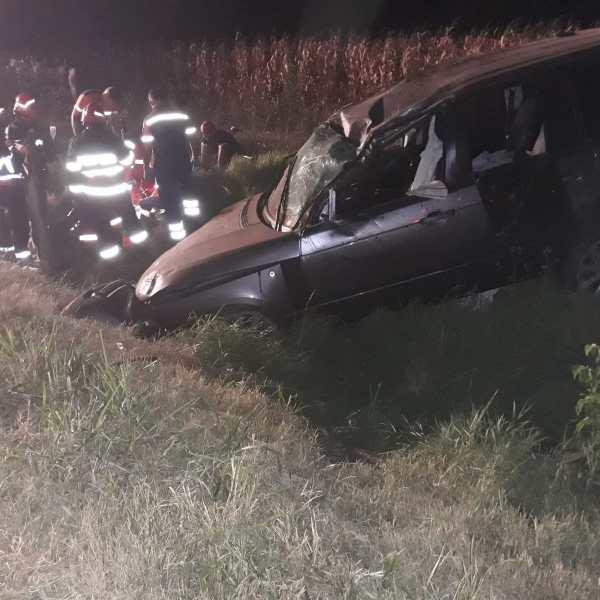 Ialomița: Accident rutier mortal în apropiere de Andrășești.  Un copil decedat și cinci persoane rănite