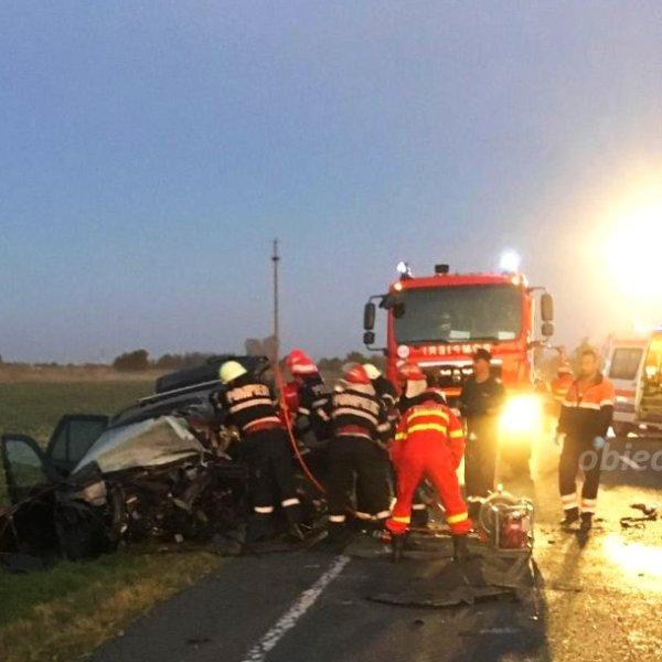 Accident rutier grav în apropiere de Perieți
