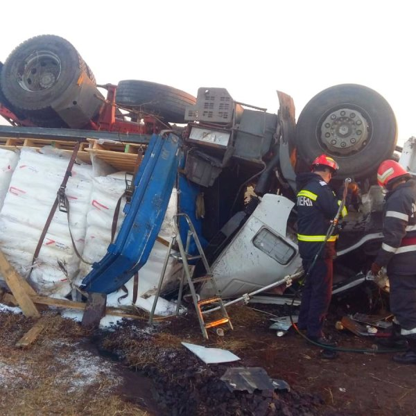 Ialomița: Accident rutier mortal pe DN2