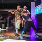Photos: Psquare Shoots Music Video With American Rapper T.I