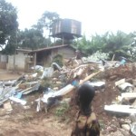Abia: Government Demolishes Kidnappers House