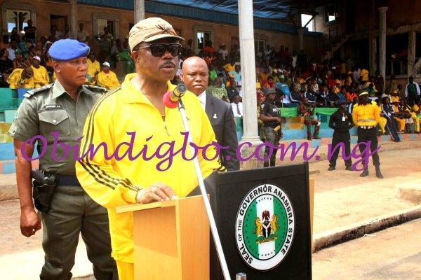 Obiano sport speech