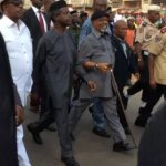 PHOTOS: Osinbajo Visits Scene Of Tanker Accident In Onitsha