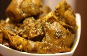 Isi Ewu(Igbo Goat's head) soup