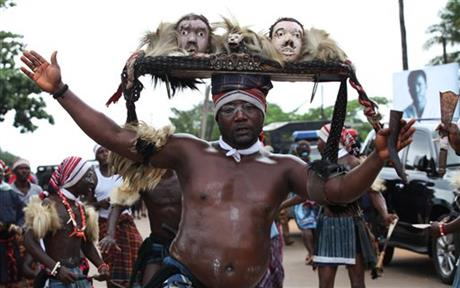 traditional funeral rite in Igbo land