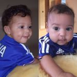 SEE How Mikel And His Adorable Twins Patiently Waited For Xmas Dinner