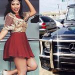 Nollywood Actress Daniella Okeke Acquires G wagon To Celebrate Christmas