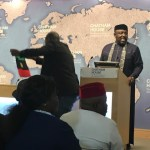 VIDEO/PHOTO: SEE How Pro-Biafra Protesters Embarrassed Gov Okorocha In UK