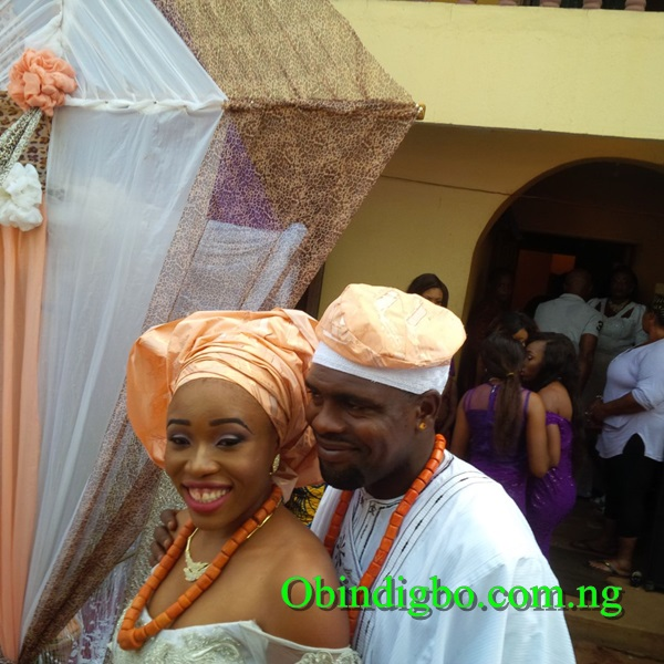Chibuzor Okonkwo and his lover Stella Nkiruka Ezidiegwu