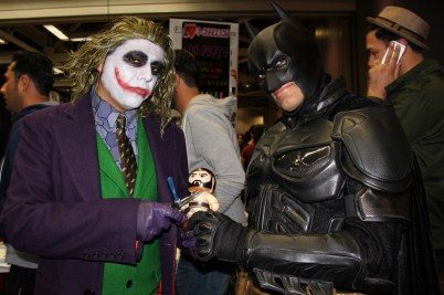 Uhmm Bats? Joker is about to show me how he got those scars..