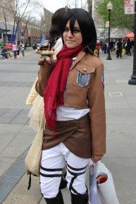 My favorite SNK character Mikasa Ackerman