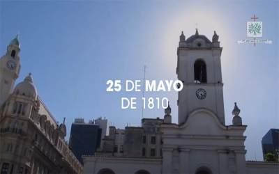 Mons. Olivera   Este 25 de mayo, renovamos el compromiso a trabajar por una Patria de hermanos, inclusiva, para defender la vida siempre desde el inicio hasta el fin