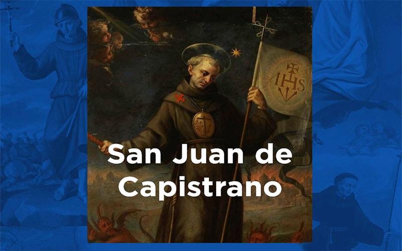 San Juan de Capistrano, no solo sus palabras eran convincentes, sino sus gestos, actitudes, siendo llamado el Padre Piadoso, el Santo Predicado