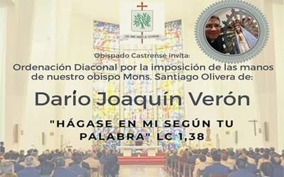 Día 3, Triduo de Oración por la Ordenación Diaconal de Darío Joaquín Verón