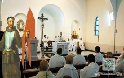 Quinto día de Novena a San Juan de Capistrano, Santo Patrono de los Capellanes Castrenses