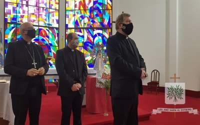 CABA | El Nuncio Apostólico en Argentina visitó nuestro Obispado Castrense de Argentina