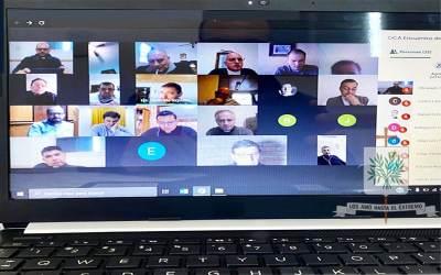 Se desarrolló la primera reunión virtual con Delegados Regionales de la Pastoral Castrense de Argentina