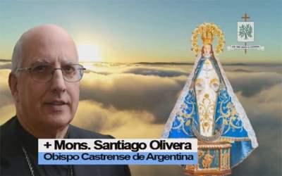Mons. Olivera | Que experimentemos en el camino de la vida, que María camina con nosotros