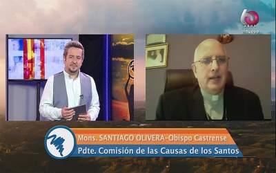 Mons. Olivera   Los Santos siguen haciendo el bien desde el cielo y hay muchos milagros, hay que saberlos descubrir