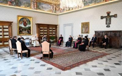 Papa Francisco | La solución a las divisiones no es oponerse a alguien, el verdadero remedio empieza por pedir a Dios la paz, la reconciliación, la unidad
