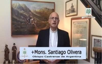 Mons. Olivera | Brochero, adelantado en su tiempo nos enseñó que la búsqueda del encuentro con Dios, el golpear puertas, es tocar corazones