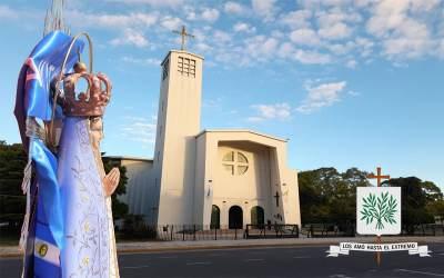 Inicio de Novena a la Virgen de Luján, Patrona de la Diócesis Castrense de Argentina