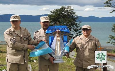 Noveno día de Novena a Ntra. Sra. de Luján, Patrona de la Diócesis Castrense de Argentina