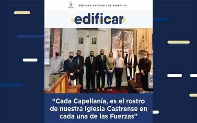 """Edificar N° 22   """"Cada Capellanía, es el rostro de nuestra Iglesia Castrense en cada una de las Fuerzas"""""""