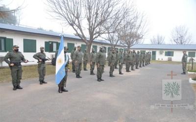Santa Fe   En el 20° Aniversario del Escuadrón 46 de GNA Rosario Victoria fue entronizada la imagen de Ntra. Sra. de Luján Patrona de la Fuerza