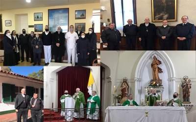 Puerto Belgrano | Mons. Olivera visitó el COAA, la Jefatura de la BNPB el HNPB y la Parroquia Ntra. Sra. Stella Maris