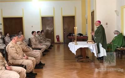 Buenos Aires | Mons. Olivera visitó a fieles de PNA Zona Delta