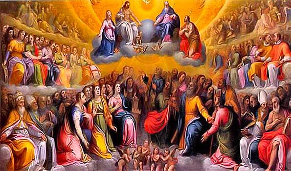 Resultado de imagem para imagem da solenidade de todos os santos - site católico