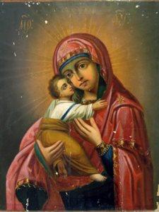 Владимирская-Чугуевская икона Божьей Матери