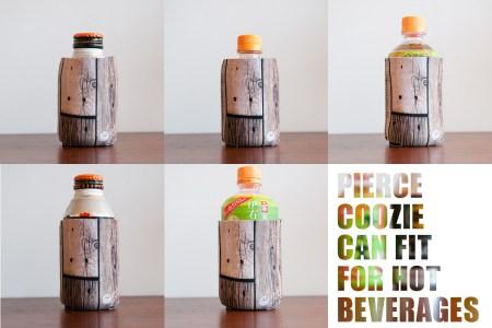 暖かいペットボトルや缶にも使えます