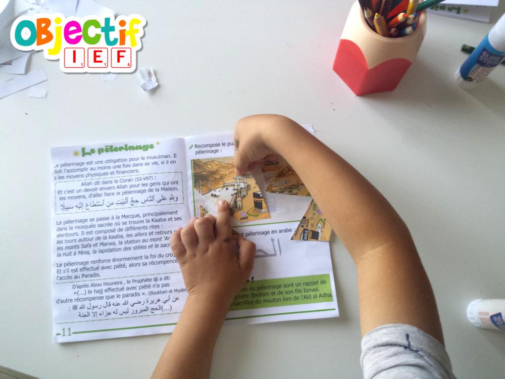 livret activité gratuit piliers de l'islam prière jeune salat hajj zakat chahada activité enfant gratuit