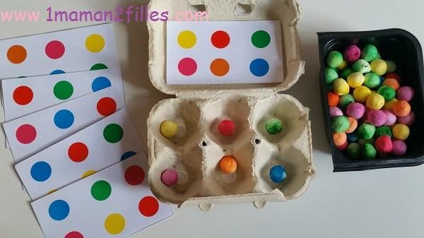 boites d'oeuf Idées récup boites d'oeuf Objectif IEF ludique